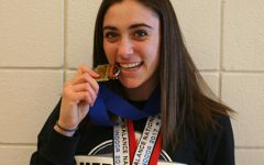 Drab drives girls' track to success