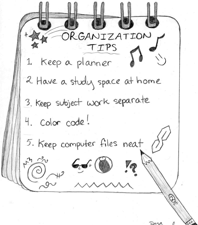 Organization key to unlocking academic success