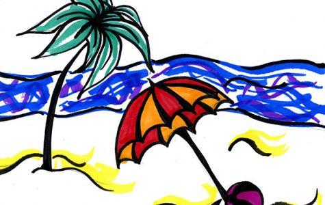 Spring up, break away at beaches