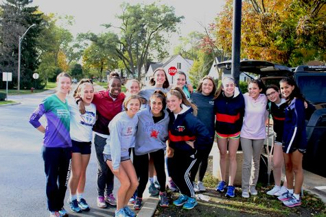 Girls cross country sprints to success