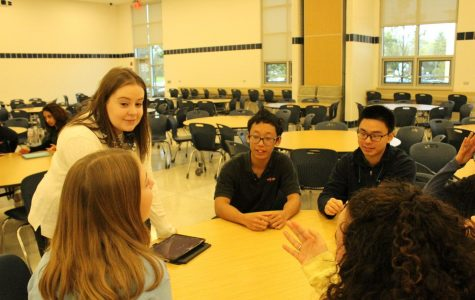 Students speak minds in competitive speeches, improve communication skills