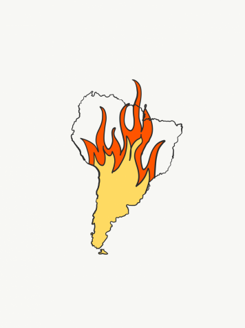 Infernos blaze on in the Amazon
