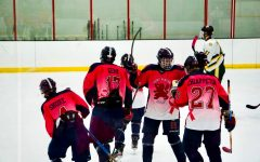 Hockey players face off against pressure