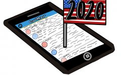 Many elect social media to keep up with the race for 2020